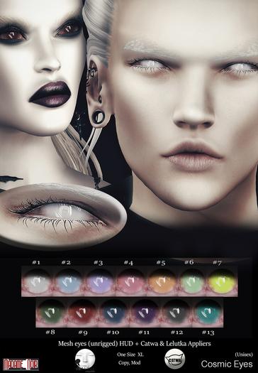 Cosmic Eyes pack by Madame Noir