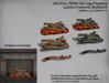 LDG-FULL PERM 726 Logs Fireplace /3 parts /2 textures /Builderkit