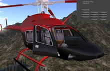 Helicopter red