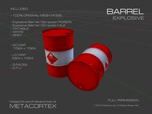 METACORTEX™ / Explosive Barrel