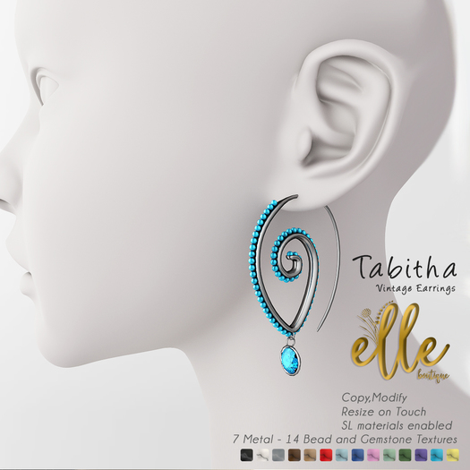 Elle Boutique - Tabitha Earrings FV