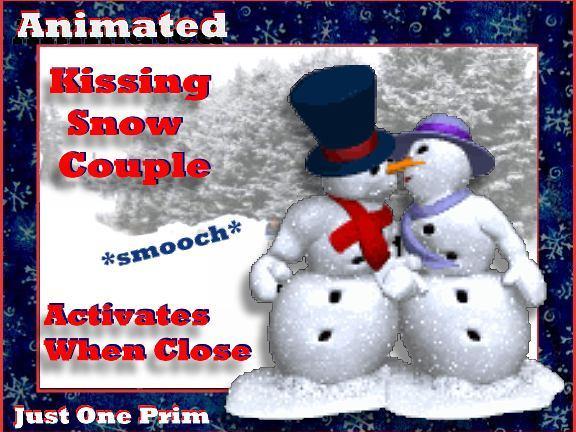 Snowman and Snowoman