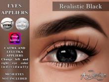 Az... Realistic Black (EYES APPLIERS)