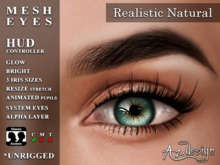 Az... Realistic Natural (MESH EYES)