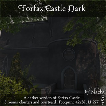*~ by Nacht ~ Forfax Castle Dark  (Wear to unpack)