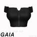 Gaia - Live It Up Crop Top BLACK