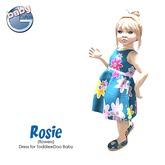 Baby Ghee - Rosie - Flowers - B BAG (add to unpack)