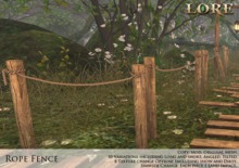 {LORE} Rope Fence Kit (boxed)