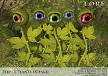 {LORE} Peeper Plants (khaki, boxed)