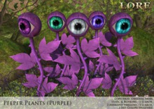 {LORE} Peeper Plants (purple, boxed)