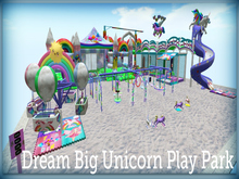 Dream Big Unicorn Play Park