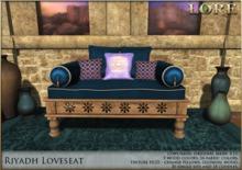 {LORE} Riyadh Loveseat (boxed)