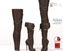 ~PP~ Marauder Boots - Brown Leather
