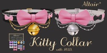 ALTAIR* kitty collar .pink. (attach me~)