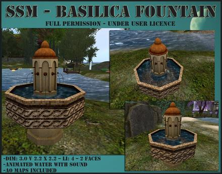 SSM - Basilica Fountain