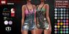 GAS [Denim Bib Dress Dolores - 20x25 Colors w/HUD FATPACK] Demo