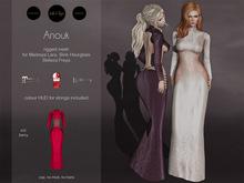 S&P dress Anouk berry (wear to unpack)