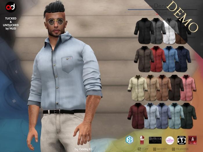 A&D Clothing - Shirt -Denis-  DEMOs