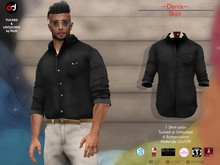 A&D Clothing - Shirt -Denis- Ebony