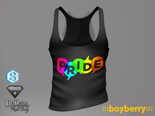 boyberry Pride Tank Black Pack
