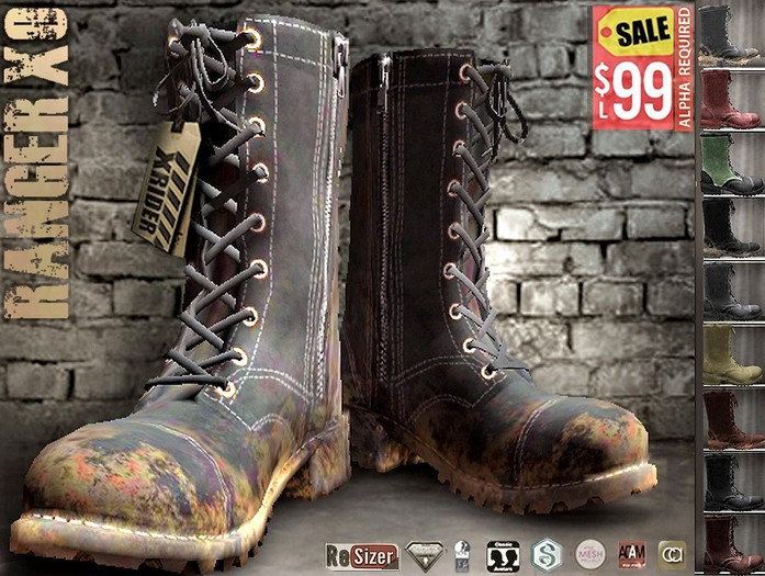 CA PROMO COMPATIBLE AESTHETIC SIGNATURE SLINK TMP RANGER BOOTS