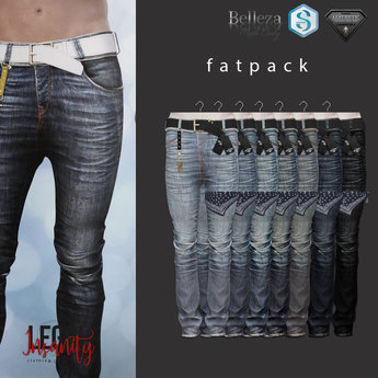 Legal Insanity - Owen skinny jeans FATPACK