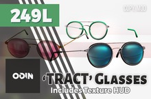 ODIN - 'TRACT' Glasses (Add to Unpack)