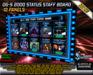 DG-S 2000 Staff Status Board (Online/Offline) -10 PANELS IN ONE BOARD!-