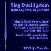 Tiny Duel System - Lightsaber (T)