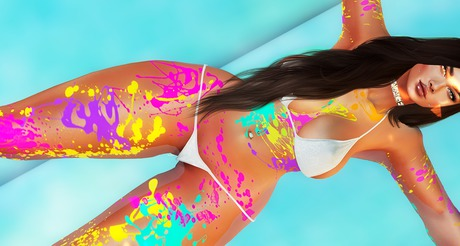 [Suicidal Thots] Body Paint NEON HUDs *updated*