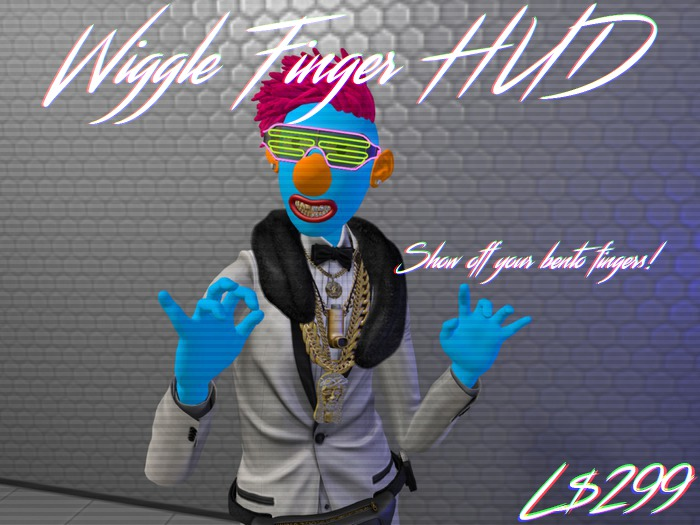 <CREWL> Wiggle Finger Hud  BENTO