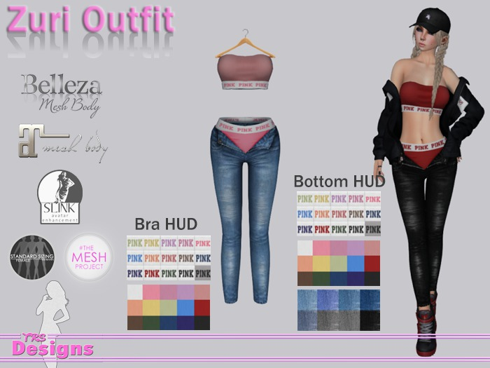 Zuri Outfit With Hud