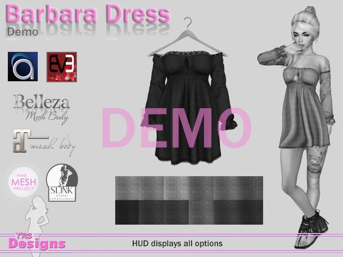 Barbara Dress Demo Hud