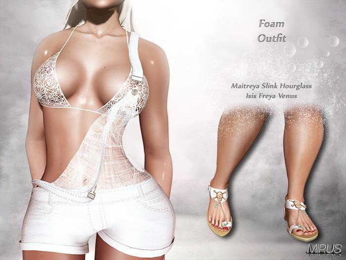 *MIRUS* Foam Outfit Maitreya Slink Belleza