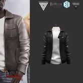 Legal Insanity - David black leather jacket