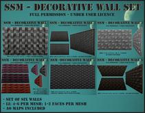 SSM - Decorative Wall Set