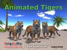 Animated Tigers  (TrigiGifts)