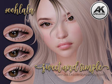 #oohlala - Sweet and Simple Eyelashes (AK Deluxe applier)
