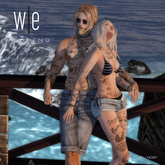 [ west end ] Bento Poses - Beach Life - Couples Pose (add)