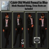 Caleb Old World Formal in Blue
