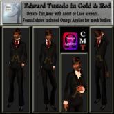 Edward Tuxedo in Black & Gold