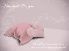 Squishy Heart Pillow Pile - Starlight Designs.