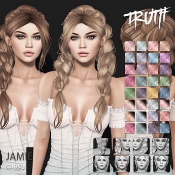 TRUTH Jamie (Fitted Mesh Hair) - Candy