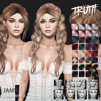TRUTH Jamie (Fitted Mesh Hair) - Multitone 2