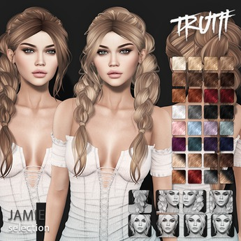 TRUTH Jamie (Fitted Mesh Hair) - Selection
