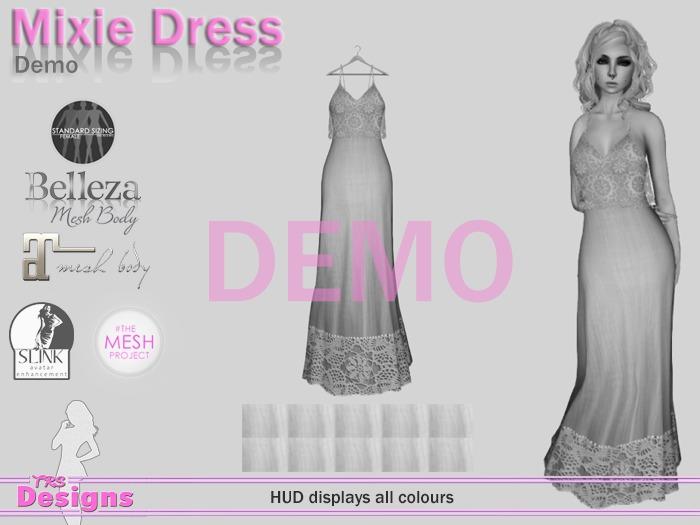 Mixie Dress Demo Hud