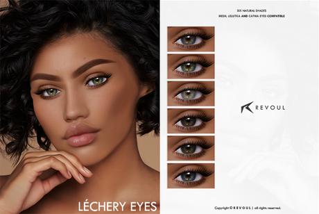 Lefort by Revoul.Lechery Eyes (Mesh/Catwa/Lelutka)