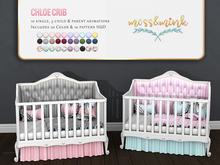 {moss&mink} Chloe crib