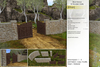 Sway's [Ethan] Brick Fence & Wooden Gate