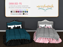 {moss&mink} Emma Bed - PG